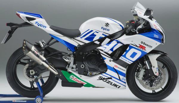 Suzuki UK unveils the Tyco GSXR-600 and Suzuki Belgium the GSXR-600 motoGP edition | moto-choice.com