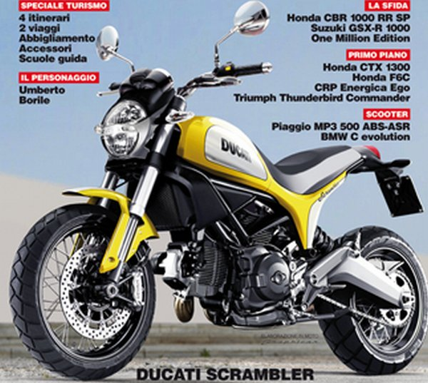 Possibly A 400 Cc Variant Of The Ducati Scrambler Will Follow