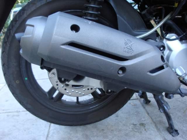 Sym HD2 200i (2011-current): Urban use? Comfortably! | moto-choice com