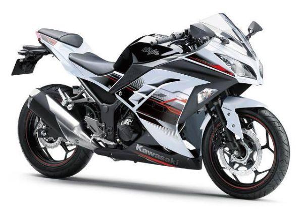 New colors for the Kawasaki ninja 250/300 and an ABS option for the