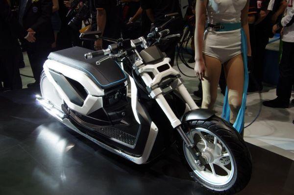 Concept: Honda Zoomer x California Style   moto-choice.com