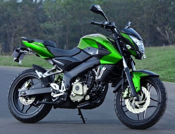 The Kawasaki-Bajaj Pulsar 200ns Was Launched In Indonesia