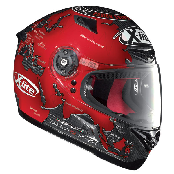 he new helmets x lite x 802r ultra carbon and x 1003 moto. Black Bedroom Furniture Sets. Home Design Ideas