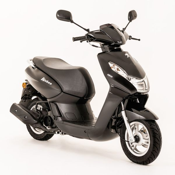 the new peugeot kisbee 100 4t moto. Black Bedroom Furniture Sets. Home Design Ideas